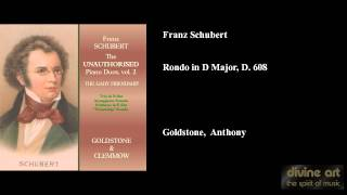 Franz Schubert, Rondo in D Major, D. 608