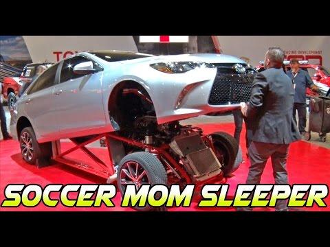 WTF!? Toyota Camry SOCCER MOM Sleeper!