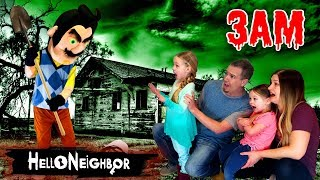 Download Lagu HELLO NEIGHBOR in Real Life at 3AM!!! Hello Neighbor in the Dark *OMG* So Creepy! Part 3 Gratis STAFABAND