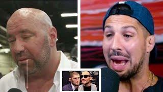 Brendan Schaub Has WORDS For Dana White About Ferguson & Khabib+Tim Sylvia &Michael Bisping MMA N.O.