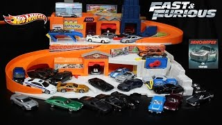 Hot Wheels Fast & Furious Sto & Go Playset Fun