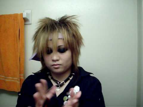 visual kei hair. Jrock Hair Tutorial (Inspi.