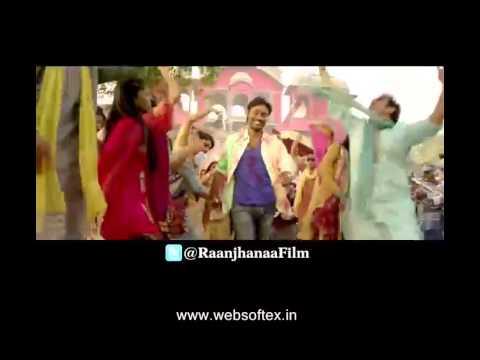raanjhanaa,raanjhnaa songs,raanjhnaa title track,raanjhnaa title song