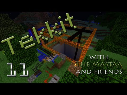 Drilling For Oil/ The Oil Rig | The Tekkit Affair #11