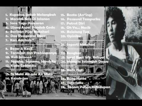 Iwan Fals  'SOCIAL REFLECTION' Full Album (28 FREESSH, RARE & INSPIRATIONAL SONG Collection ... )