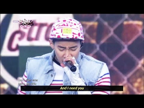 Jay Park - JOAH (2013.05.25) [Music Bank w/ Eng Lyrics]