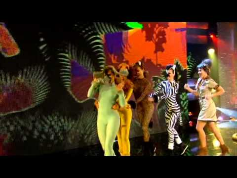 Nina Conti and Monk perform I Like To Move It by Reel to Real | Red Nose Day 2013
