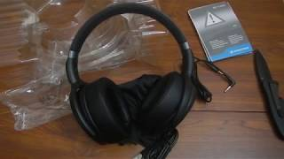 Unboxing sennheiser HD 4.40 BT headphones