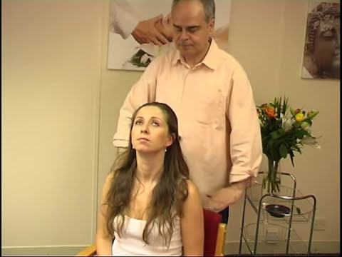 Indian head massage techniques 5