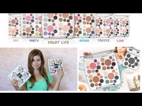 {Review/Demo} Life Palettes from Em Michelle Phan Makeup Line