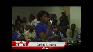 Affaire Clifford Brandt: Audition de Carline Richema par le juge Joseph Jeudilien Fanfan