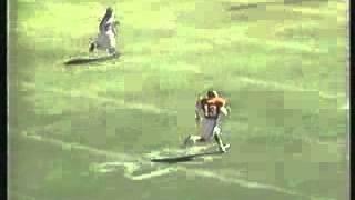 Steve Bono's 76 yard bootleg run against the Cardinals - 1995