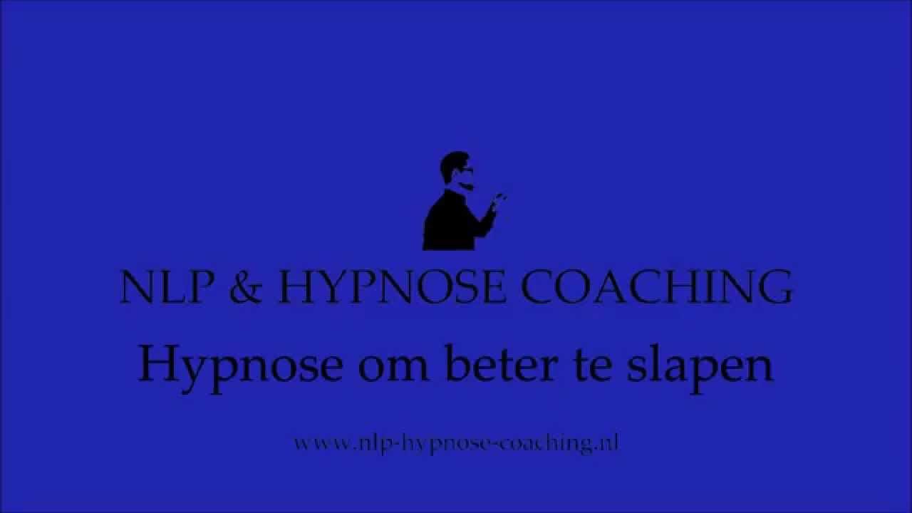 hypnose om af te vallen
