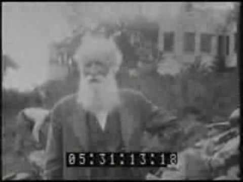 John Burroughs Talking Towards Camera (1916)