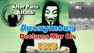 Anonymous declares war on IS , Biggest operation ever || News video 2015