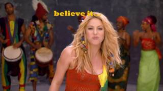 Waka Waka-Shakira English version W/ Lyrics