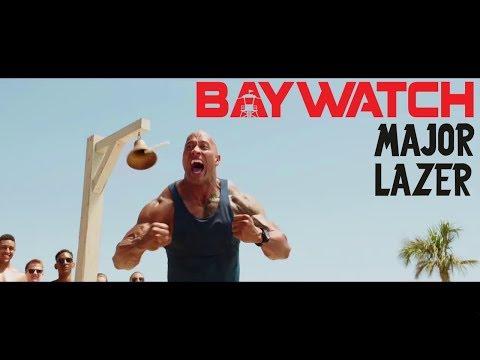 Major Lazer | Amber Coffmann | Get Free | Baywatch (Music Video)