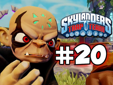 SKYLANDERS TRAP TEAM GAMEPLAY WALKTHROUGH - PART 20 -  HOOD!