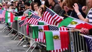 دوازدهمین رژه نوروز در نیو یورک ۲۰۱۵