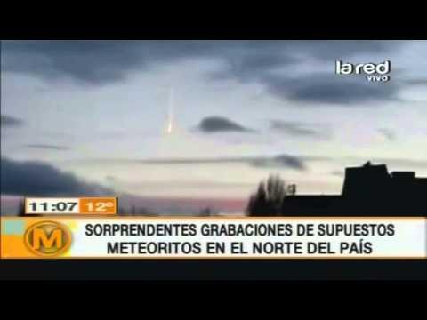 Lluvia de meteoritos en Chile