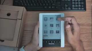 Pandigital Novel 6 Personal eReader распаковка