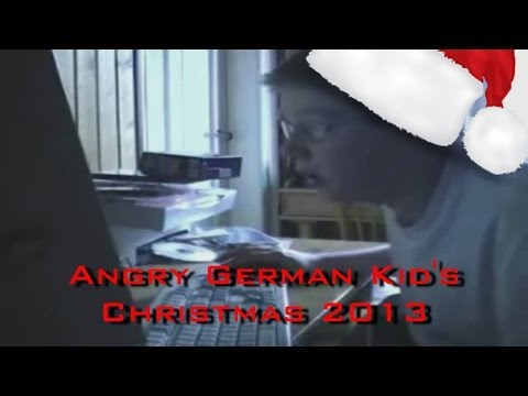 Angry German Kid's Christmas 2013 video