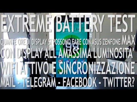 Battery test estremo su Asus Zenfone MAX | esperimenti