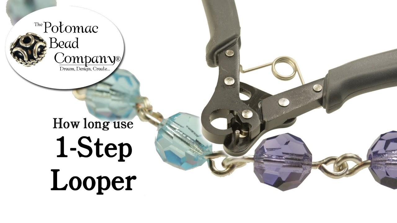 How to use the 1 step wire looper tool youtube for Step by step wire jewelry subscription