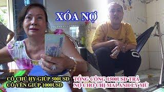 Cô Yên, cô chú Hy ở Mỹ giúp 1500USD cho chị Mai anh Lý mù trả nợ Vay