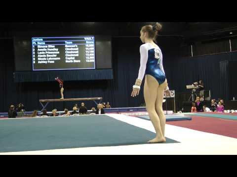 Peyton Ernst -- Floor Exercise -- 2012 U.S. Secret Classic