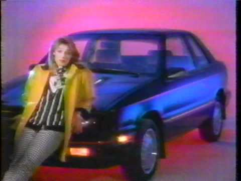 This is another BLAST FROM THE PAST, but this time in the realm of marketing history. Here we have a Dodge ad from the year 1987 that featured Eleanor Mondal...