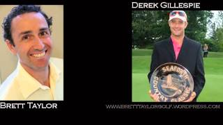 Derek Gillespie interview: Golf Psychology Strategies of Tour Champions