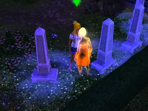 The Sims 3 - Kissing A Ghost