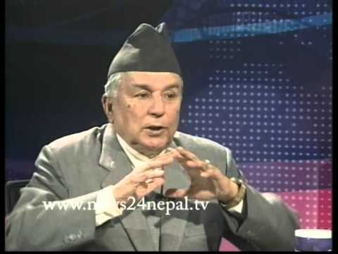 एक खास सम्वाद नेपाली कांग्रेसका उपसभापति रामचन्द्र पौडेलसँग - REAL FACE