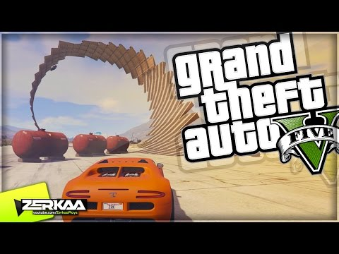 CRAZY CORKSCREW RACE | GTA 5 Funny Moments | E450 (with The Sidemen) (GTA 5 Xbox One)