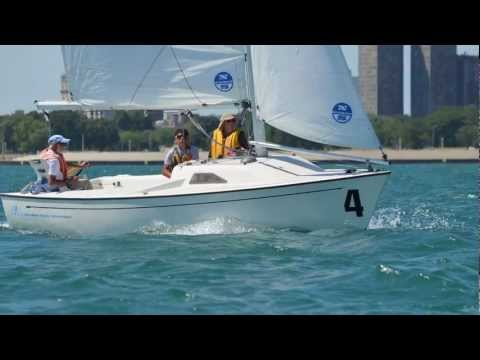 North American Challenge Cup, Mike Jaffe Interview. Disabled Sailing.