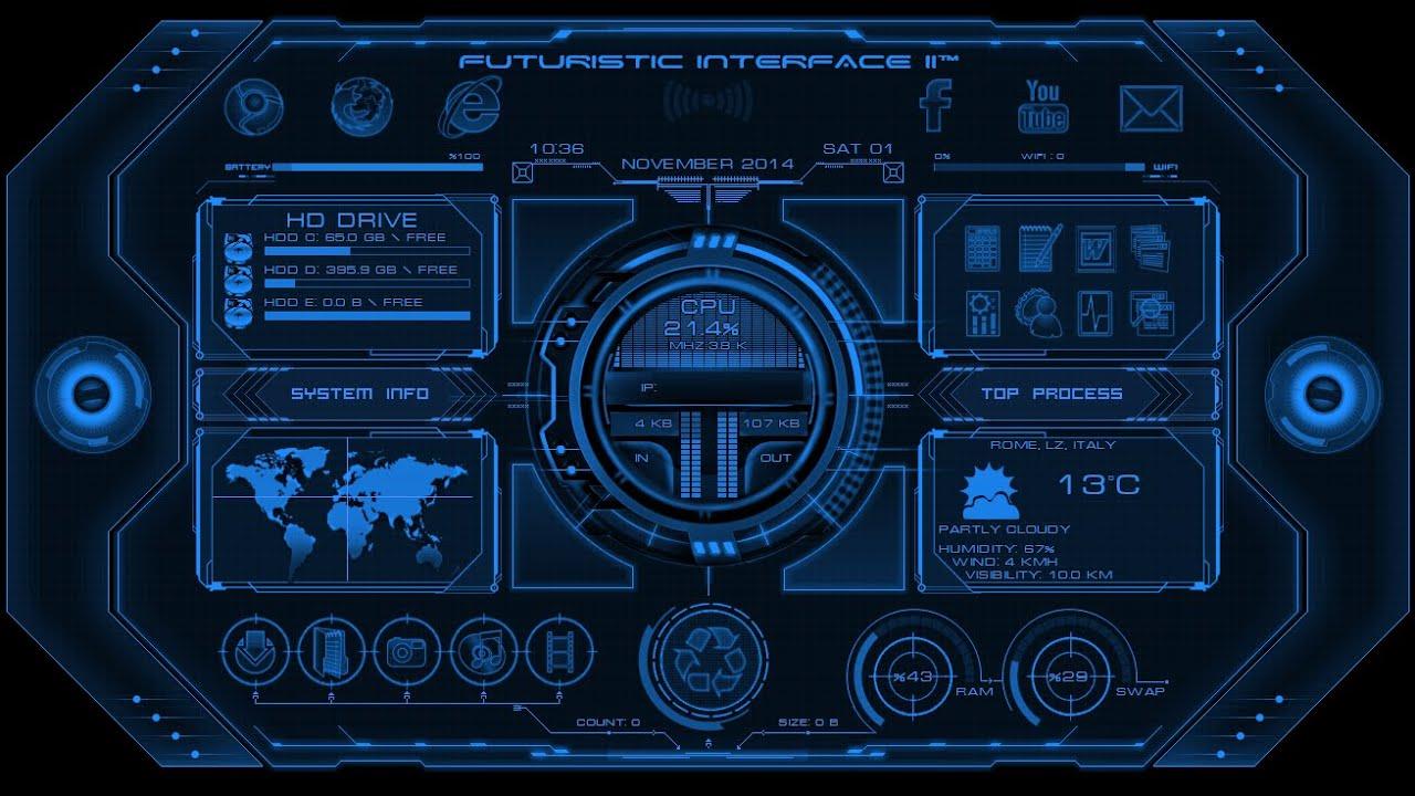 iron man technology wallpaper