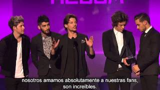 One Direction Album Pop Favorito los 2013 AMAs - Subtitulos en español.