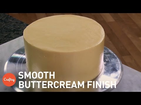 Smooth Buttercream Finish with Sharp Edges   Cake Decorating Tutorial with Jenny McCoy