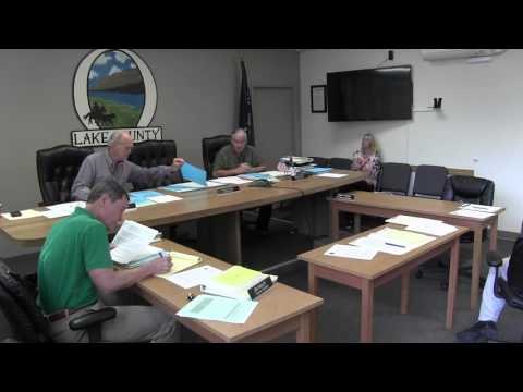 Lake County Commissioners meeting 10-07-2015