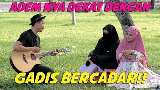 Nyanyiin gadis jilbab syar'i (membuat lagu untuk orang yang sedang puasa ) #Q&A1