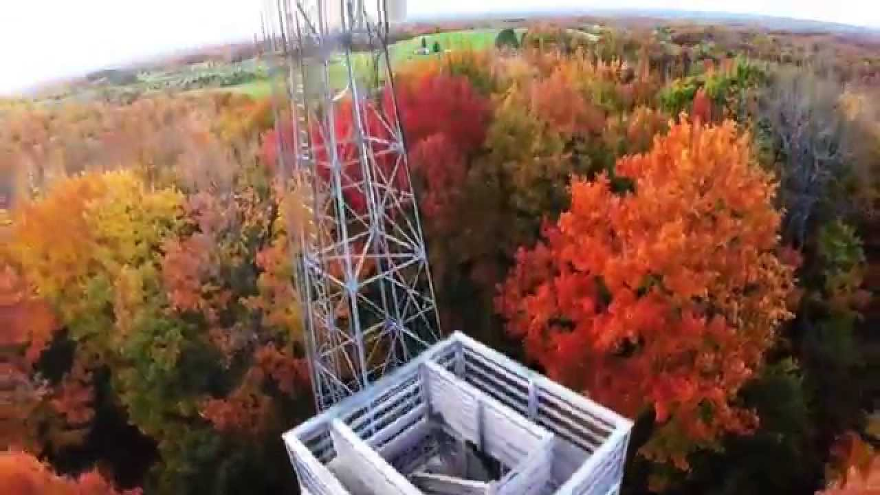Wisconsin S Fall Color Timm S Hill Youtube
