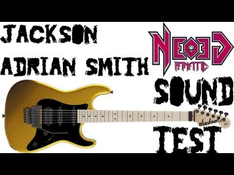 Jackson signature Adrian Smith sound test - Neogeofanatic