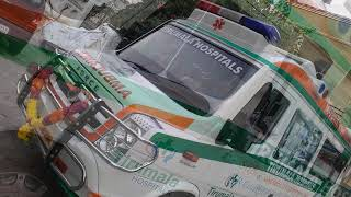 Tirumala Hospital Mobile ICU Ambulance