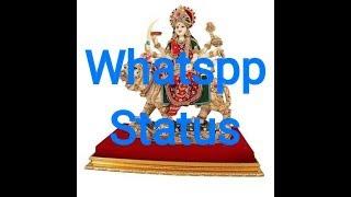Navratri Whtsapp statusLeke pooja ki thali Navratr