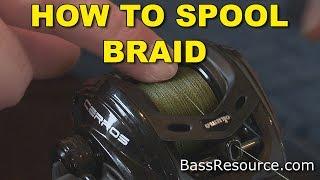 download lagu How To Spool Braid On A Baitcaster  Bass gratis