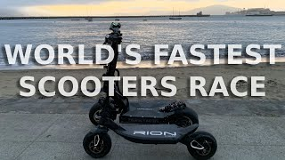 Dualtron X Rion Race Edition | Racing the two fastest electric scooters