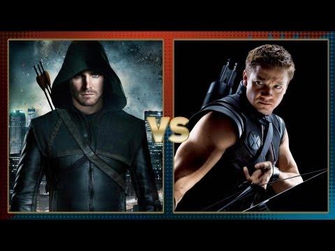 Green Arrow vs. Hawkeye: Fanboy Faceoff