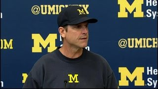 Jim Harbaugh Press Conference 10-12-15