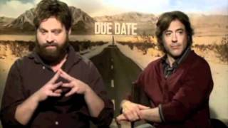 Robert Downey Jr & Zach Galifianakis moments